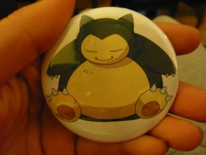 Pretty Buttoner: Snorlax