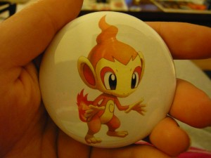 Pretty Buttoner: Chimchar