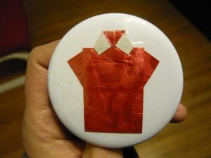 Pretty Buttoner: 5 Gum- Cinnamon