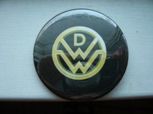 Pretty Buttoner: Down With Webster Custom Button