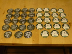 Pretty Buttoner: FTC Vow of Silence Buttons