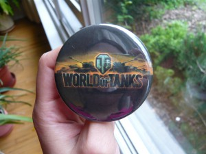 Pretty Buttoner: World of Tanks Logo Button