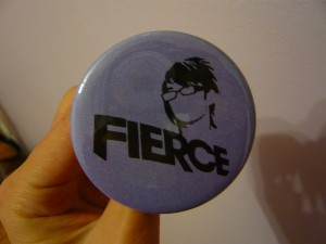 Pretty Buttoner: Fierce Custom Button in Purple
