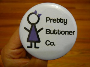Pretty Buttoner: New Company Logo- Purple