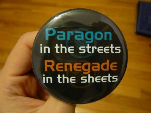 Pretty Buttoner: Paragon Renegade Custom Button