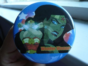 Pretty Buttoner: Wonder Woman Button