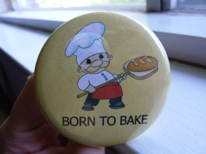 Pretty Buttoner: Born to Bake Button