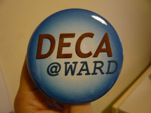 Pretty Buttoner: Deca @ Ward Button Blue