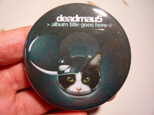 Pretty Buttoner: deadmau5 Button