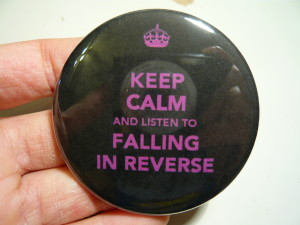 Pretty Buttoner: Falling in Reverse Button