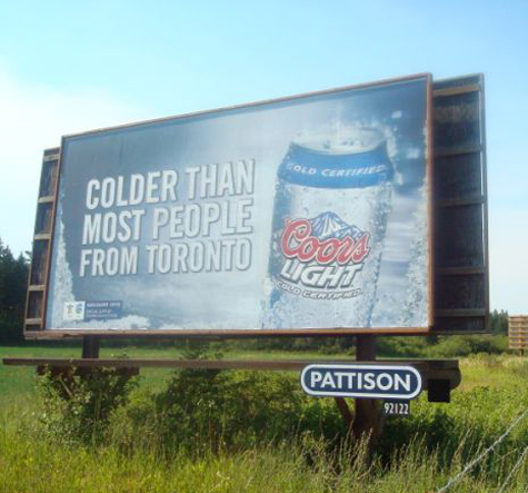 Coors Canada pulls beer ad that mocked 'cold' Toronto