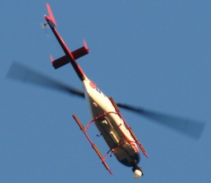 CTV News helicopter buzzes my house at 07:00am. They are LOUD.