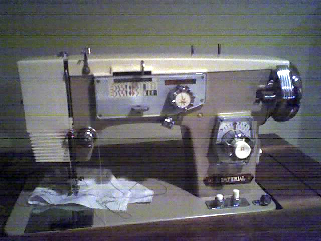 Imperial sewing machine, model 562, by panhandlephillips, Toronto, Canada