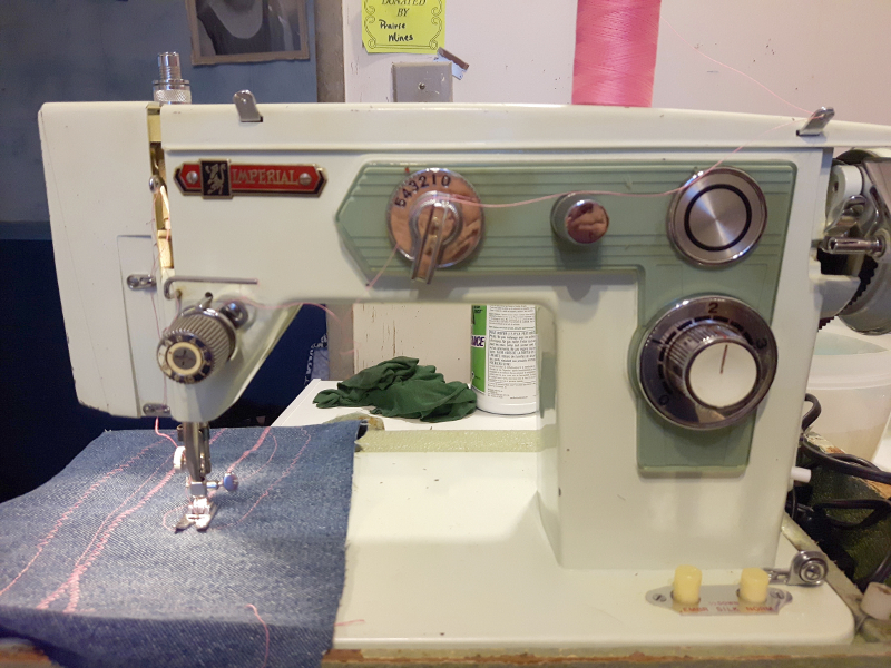 Imperial Sewing Machine model 501, zig zag, From Joyce in Calgary.