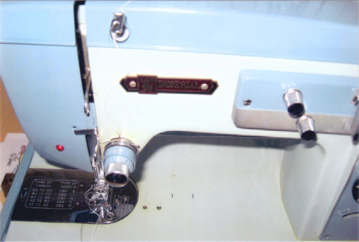 Imperial model 7003 is very similar to the model 535 but no darning. From Sandra