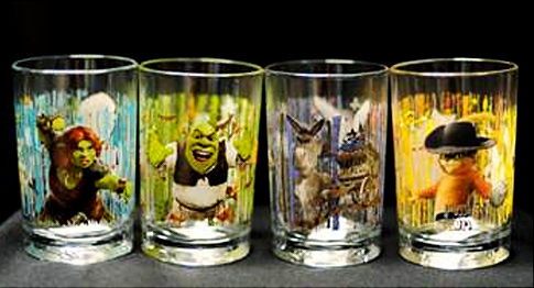 McDonalds recalls Shrek glasses over fears of toxic cadmium levels