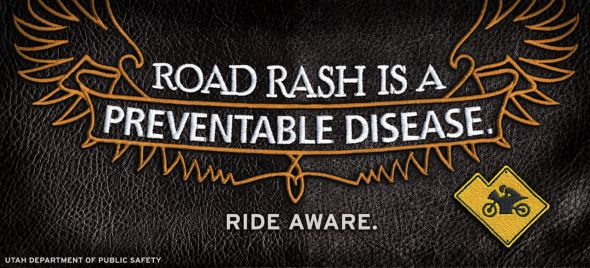 Utah Department of Public Safety: Road Rash is Preventable
