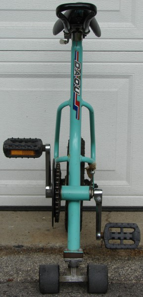 Daou Unicycle, anterior view