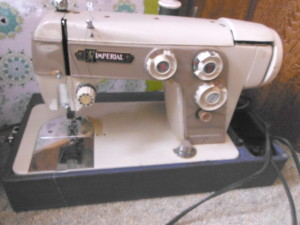 Imperial Deluxe sewing machine, circa 1966, no model number