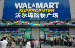 Walmart China has labour troubles, Government will not back company against workers. Pity.