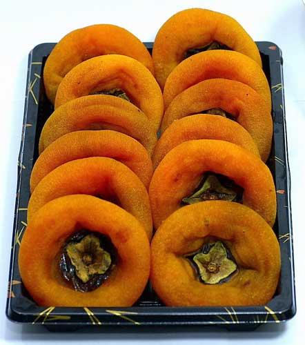 Dried persimmon are a delightfully sweet staple for Chinese New Year in Northern China
