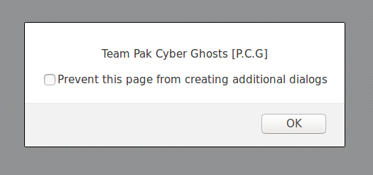 Hacked By An0n 3xPloiTeR And 8B0K3N H34R7 Team Pak Cyber Ghosts [P.C.G], dialog box 2