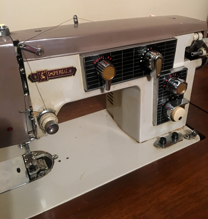 Imperial Sewing Machine, Model 163M, from Pat Holland, Canada, Photo 2