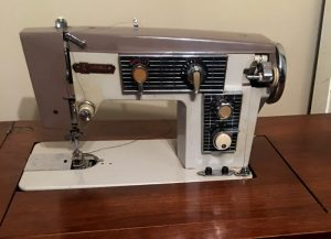 Imperial Sewing Machine, Model 163M, from Pat Holland, Canada