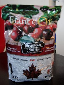 Fruit d'Or cranberries: packaging does not state Made in Canada, or Product of Canada. I almost did not buy it due to an unknown country of origin. Photo 1 by Don Tai