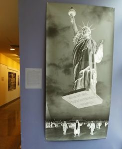 Art exhibition at Bard College in Annandale-on-Hudson, New York, a small liberal arts college. The exhibition shows modern Chinese life.