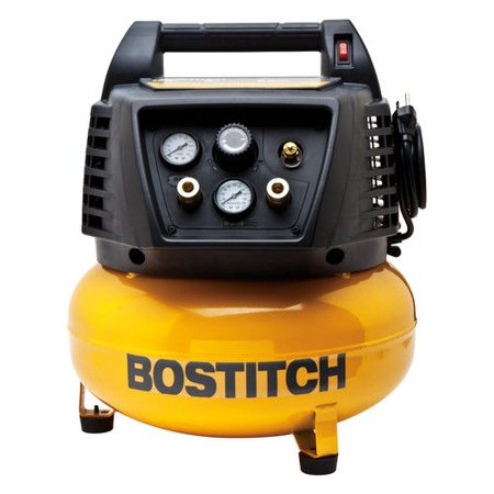 Bostitch btfp02011 Pancake air compressor, 150psi,6 gallons