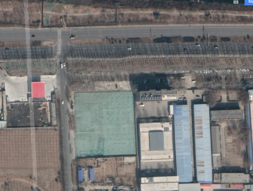 Adolescent Psychological Development Base 中国青少年心理成长基地, part of the Beijing Tongjun Chinese medicine hospital 北京桐君中医院, in Daxing District, satellite map, Google