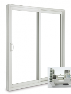 This Sunview Victorian patio door came branded as a Jeld-Wen door, bought at Home Depot in Canada. It came with no instructions nor hardware from Home Depot. Further Jeld -Wen customer service refused to send us the mounting hardware.