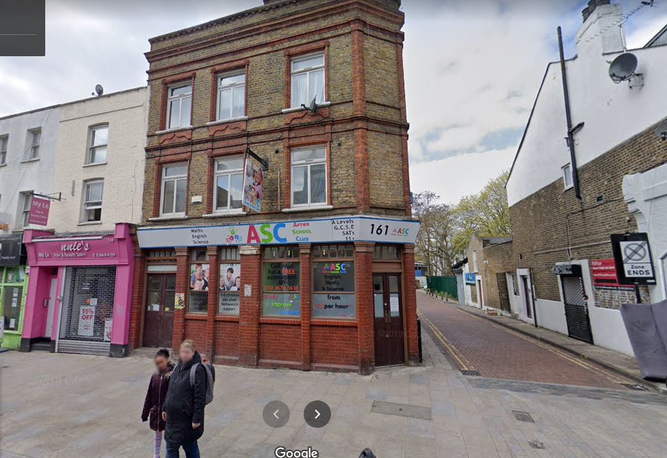 UK, London, 161 Deptford High St Deptford, London SE8 3NU, After School Center ASC,  GPS: 51.479438,-0.026188, Plus Code: 9C3XFXHF+QG